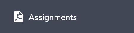 Eduopus Assignments menu
