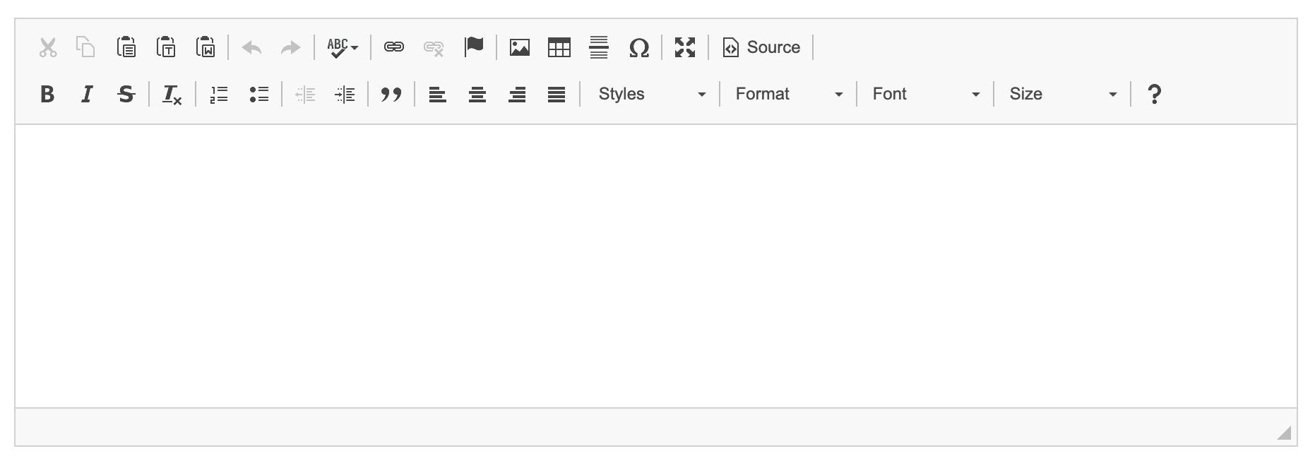 Eduopus Global settings editor