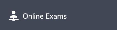 Eduopus Welcome Online Exams menu